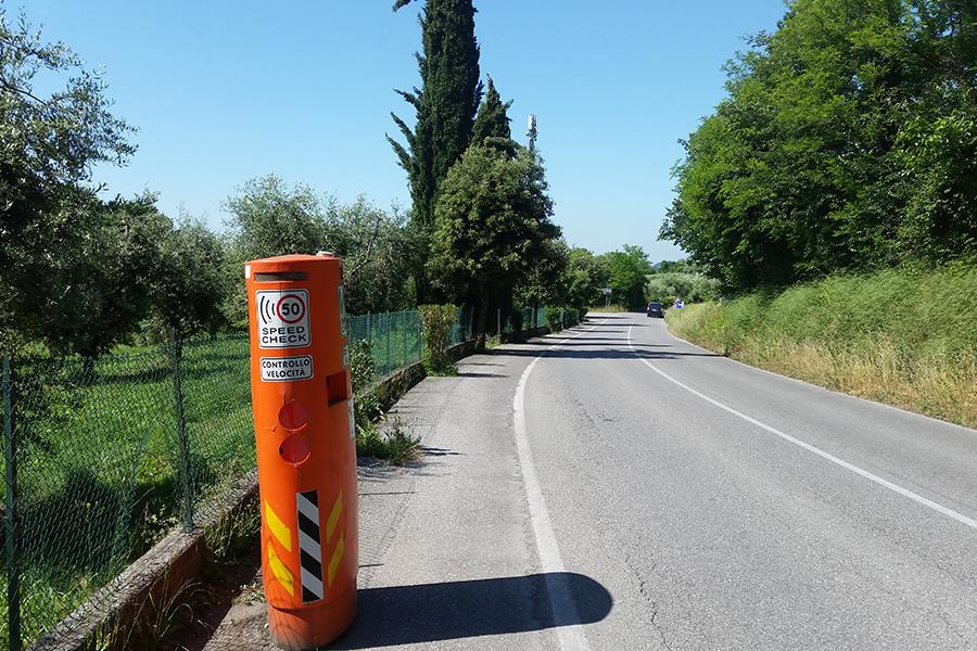 Fake Radarkontrolle am Gardasee