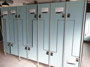 Kundeninformationen Umkleide Fitnessstudio