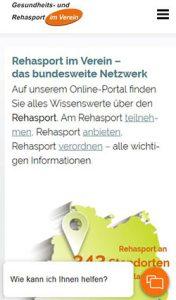 Chat-Bots im Service hier auf Rehasport-Online